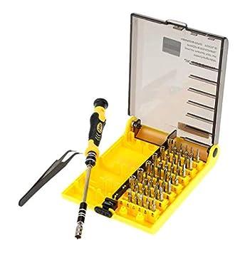 KKmoon 45 en 1 Kit de herramientas de destornillador de hardware profesional