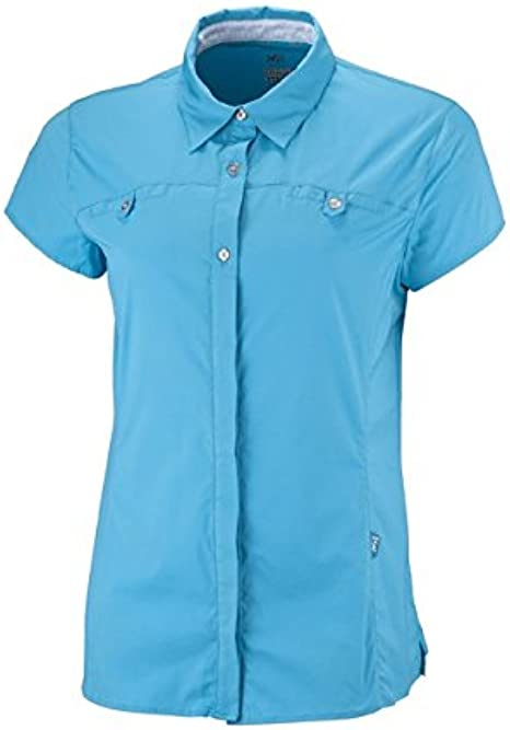 Millet Ld Back Country Camisa Mujer, - bright blue: Amazon.es: Deportes y aire libre
