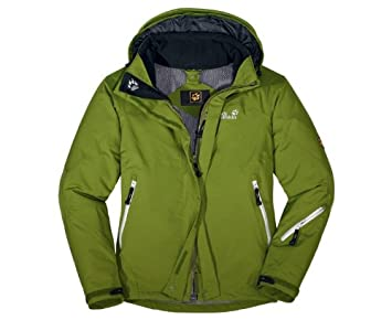on sale outlet for sale on feet at JACK WOLFSKIN Ladies Resolution Jacket, Green, L: Amazon.co ...