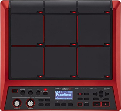 Roland Special Edition Percussion Sampling Pad with 16GB Internal Memory, red (SPD-SX-SE)