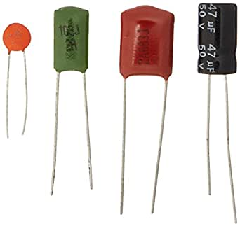 e projects epc 201 36 value capacitor kit pack of 570 amazon com