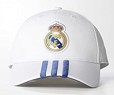 Adidas Real Madrid Home 3S Cap CRYSTALWHITE/PURPLE OS from adidas