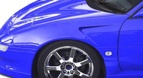 Concept Fenders Gt Duraflex (1991-1995 Toyota MR2 Duraflex GT Concept Fenders - 2 Piece)