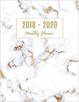 2018 - 2020 Monthly Planner: Planner 3 year monthly planner ...
