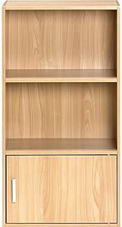 Amazon Comfort Products Small Modern Bookshelf Oak Kitchen Dining
