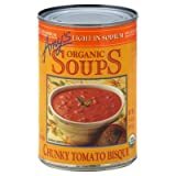 Amy's Kitchen Low Sodium Chunky Tomato Soup 14.5 Oz (Pack of 12)