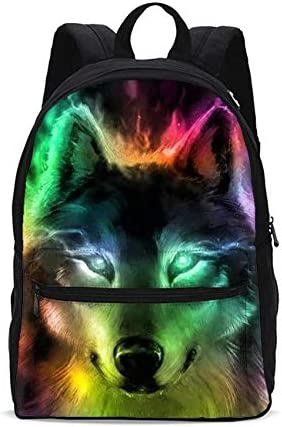 Colorful Hearts Pattern School Backpack Laptop Backpacks Casual Bookbags Daypack for Kids Girls Boys and Women