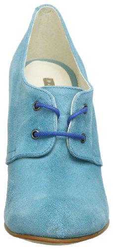 de Skara de Azul Zapatos Azul para S Johannes 9336 cordones mujer W cuero blau Blau 0xO5x4Sq