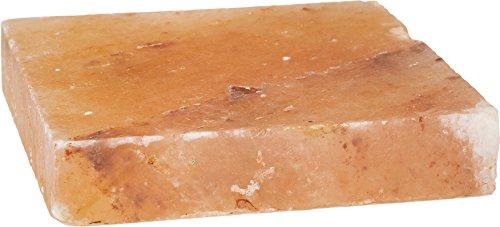 Himalayan Salt Slab Block for Grilling, Searing, Chilling, Seasoning & Serving, 8x8x1.5 inch, By Tiabo