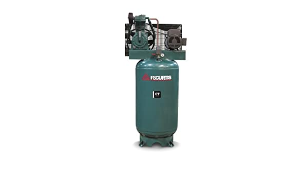 Amazon.com: FS-Curtis (CT5) 5-HP 80-Gallon Two-Stage Air Compressor (230V 1-Phase) - 05C55V8S-A2D: Home Improvement