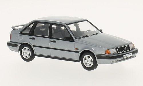 Volvo 440, metallic-grey, 1988, Model Car, Ready-made, Premium X 1:43