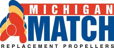 Michigan Match 3-Blade Modular Prop/Aluminum, 9.875