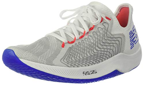Functional Cell - New Balance Men's FuelCell Rebel Running Shoe, White/Multicolor, 9 2E US