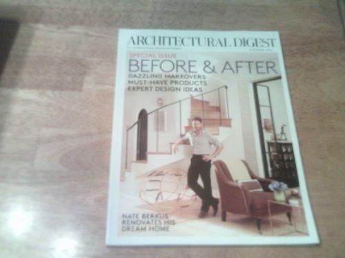 Architectural Digest Magazine November 2012, NATE BERKUS ...