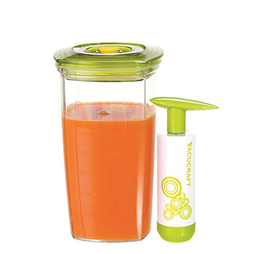 Vacucraft VC-060 Juice Saver, 20 oz, Clear