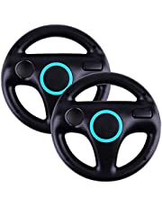 Top Souls Mario Kart Racing Wheel for Nintendo Wii - 2 Pack Original Black