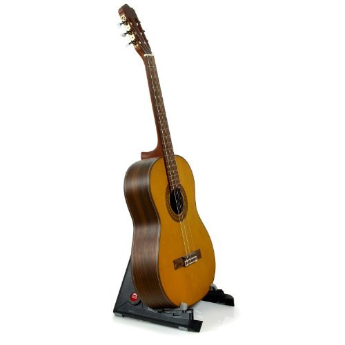 portable stand for acoustic and classical guitars by hola import it all. Black Bedroom Furniture Sets. Home Design Ideas