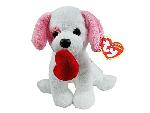 Ty Beanies Valentines Amore Dog Puppy