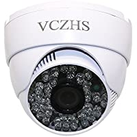 AHD Camera, VCZHS AHD 2.0MP 1080P 48LED IR 3.6mm HD Lens(3MP) Analog Indoor Security Dome CCTV Camera