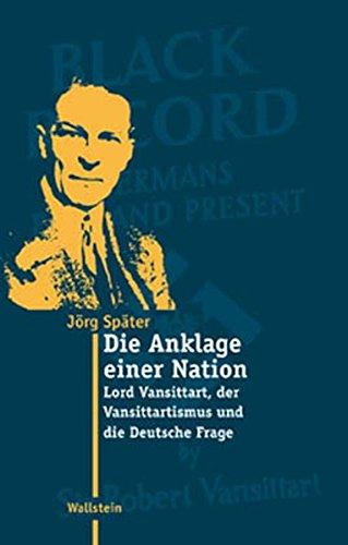 vansittart-britische-debatten-ber-deutsche-und-nazis-1902-1945-moderne-zeit
