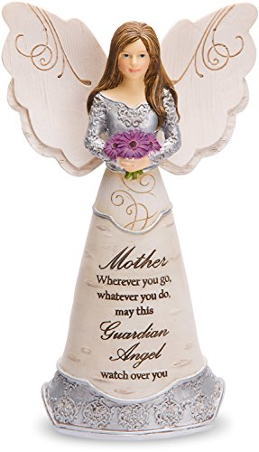 Pavilion Gift Company Elements Mother Guardian Angel Figurine, 6