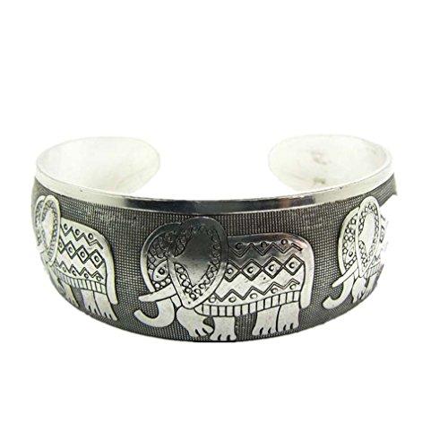 Meolin Vintage Woman Open Cuff Bracelet Jewelry Ethnic Wide Bangle