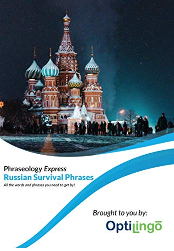 Learn Russian - OptiLingo Phraseology Express - Beginner Course - Survival Phrases - 15 Minutes a Day