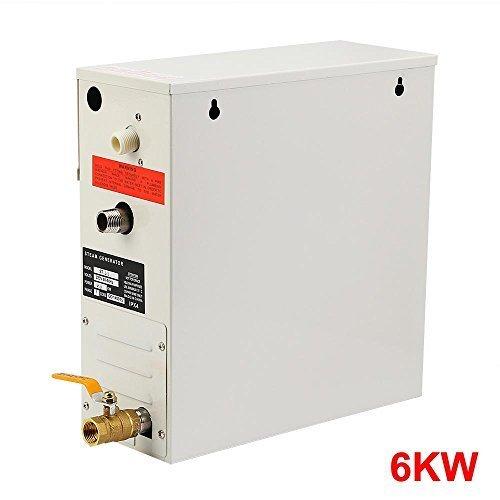 ChefStore Steam Generator Shower Sauna Steamer 6 KW with Digital Timer Temperature Control 220V