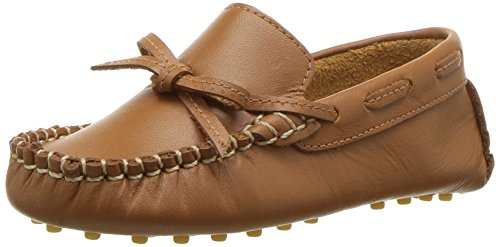 Elephantito Boys' Driver Loafer, Natural, 10 M US Toddler by Elephantito