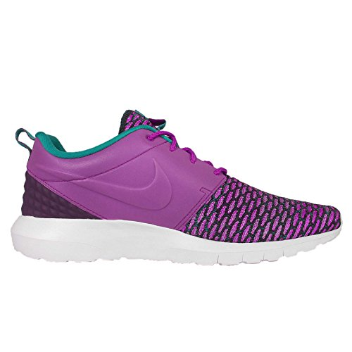 Nike Roshe Nm Flyknit Prm Mens Scarpe Da Ginnastica Correnti 746825 Scarpe Da Ginnastica Scarpe Viola Dusk / Grand Purple / Rdnt Smeraldo