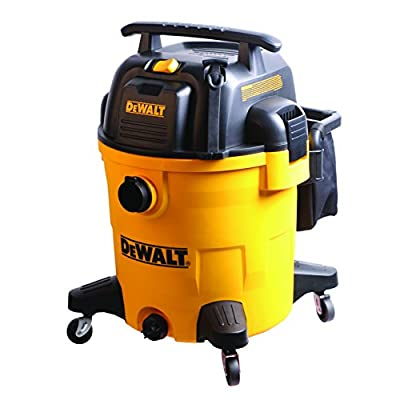 DeWalt DXV12P Wet/Dry Vacuum, 12 gallon, Yellow
