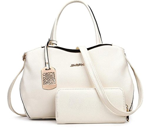 Cross Shopping sub Wallet Diagonal Work NVBAO mother Lady's Grain Bag meters Package white Handbag Handbag Litchi Single pack Shoulder 1vwBRvPq
