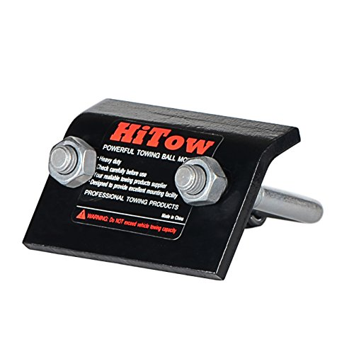 HiTow Trailer Hitchs Tightener Anti-Rattle Stabilizer 2'' & 1.25'' Hitch, No Rattle, Corrosion Resistant by HiTow