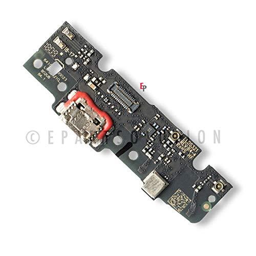 ePartSolution_Replacement Part for Motorola Moto E5 Plus XT1924 Micro USB Charger Dock Connector Charging Port USB Port Flex Cable USA
