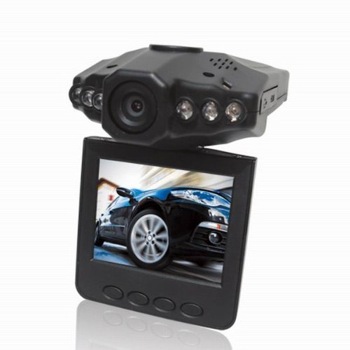 SODIAL(R) 720P 2.5-inch HD Car LED IR Vehicle DVR Road Dash Video Camera Recorder Traffic Dashboard Camcorder - LCD 270 degrees Without Card