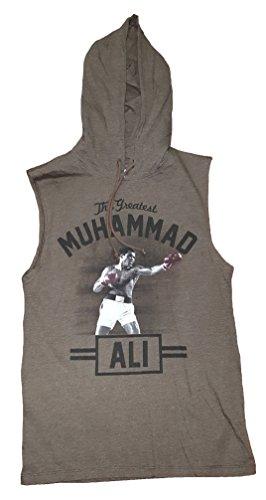 Merchandise Ali Muhammad - Muhammad Ali Graphic Sleeveless Pullover Hoodie - X-Large