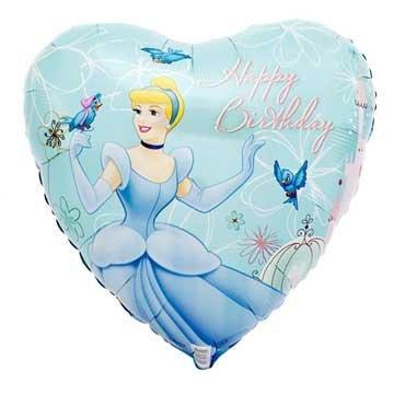 Party Destination Cinderella Dreamland 18 Foil Balloon Party Supplies -