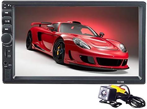 PolarLander Autoradio 2 Din Car 7インチLCDタッチスクリーンカーラジオプレーヤーBluetoothカーオーディオサポートリアビューカメラ