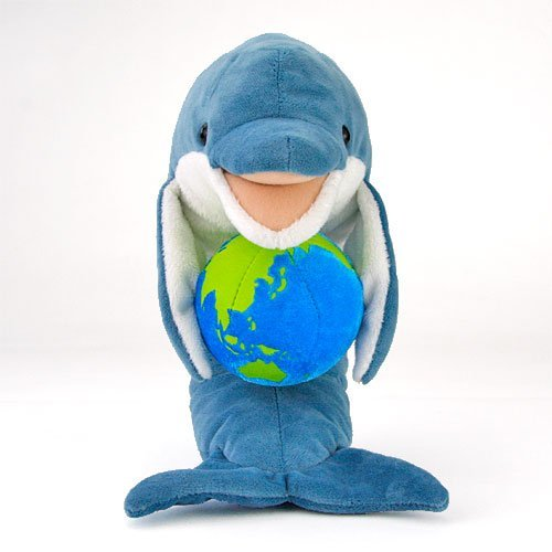 Real Stuffed Dolphin Sit Series Parent