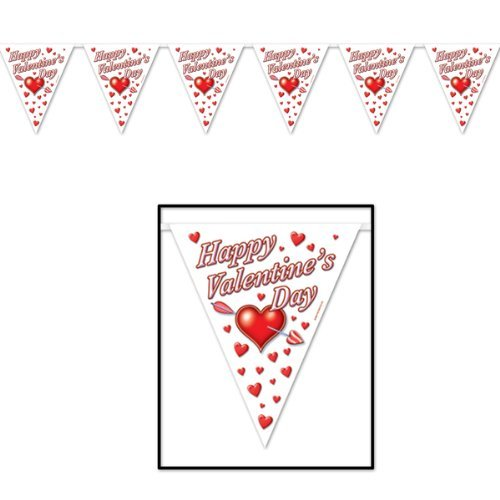 (Happy Valentine's Day Pennant)