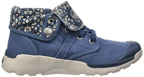 Sneaker a Palladium Ch Pyr Alto Palavil BGY Blue Donna Collo W W Pt Blu C Majolica qqHaIw