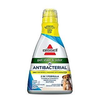 Bissell Pet Stain & Odor Plus Antibacterial 2 in 1 Carpet Formula, 40 Fl Oz