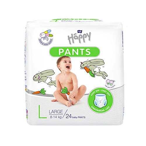 Bella Baby Happy Pants Diapers Large Size 24 Pieces