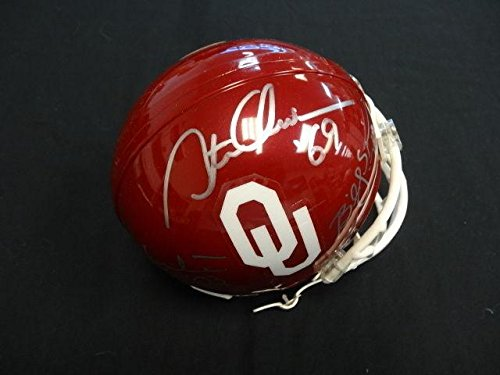 3-Oklahoma-Heisman-Winners-Multi-Signed-Mini-Helmet-Auto-AC02084-PSADNA-Certified-Autographed-College-Mini-Helmets