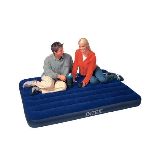 Intex Classic Downy Full Airbed, Outdoor Stuffs