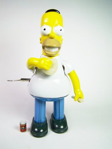 Rocket USA Smiling Homer Tin Wind-up The Simpsons