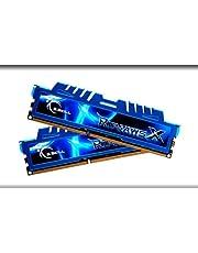 G.Skill F3-2400C11D-8GXM Ripjaws X 8GB (2x 4GB) DDR3 2400 MHz Dual Channel Memory Kit - Blue