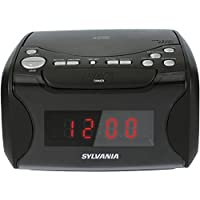 Sylvania Alarm Clock Radio with CD Playe...