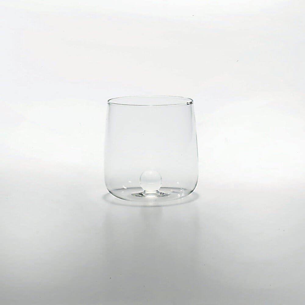 Zafferano Bilia Tumbler Set 6 verres /à eau transparents avec bille de 6 diff/érentes couleurs