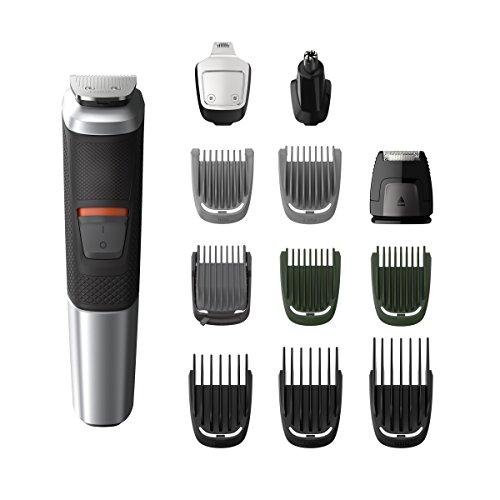 🥇 Philips MG5740/15 12 en 1 – Recortadora Todo en Uno: para Barba